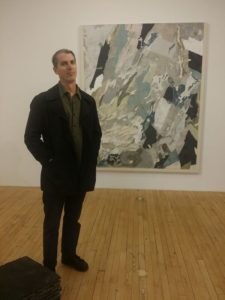 kris kemp at art show in Chelsea, Manhattan, New York City