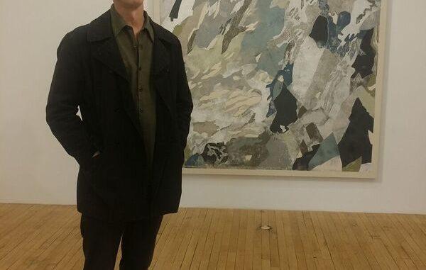 kris kemp at art show in Chelsea, Manhattan, New York City